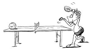 Tischtennis Bereitschaft und Leistung