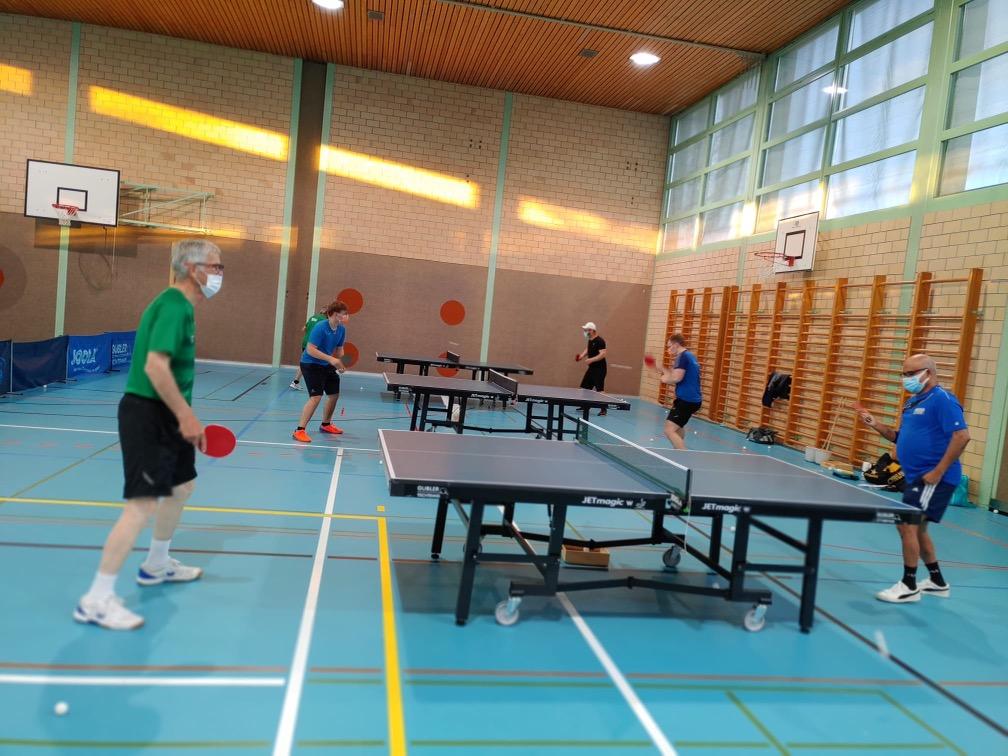 Tischtennis Club Regio Moossee Training