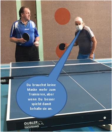 Corona Massnahmen Tischtennis Club Regio Moossee